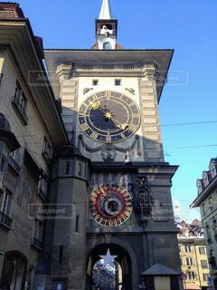 スイス・ベルンの時計台。の写真・画像素材[1626376]