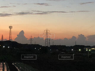 怪獣雲ゴジラかもの写真・画像素材[2336175]
