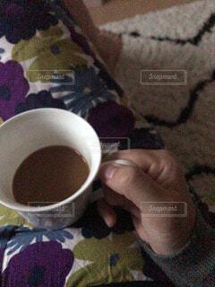 一杯のコーヒーの写真・画像素材[1618021]