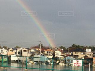 虹の街の写真・画像素材[1677090]