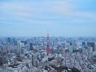 東京タワーを見下ろす景色の写真・画像素材[1645307]
