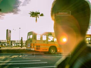吸い込まれそうな日差しの写真・画像素材[1707975]