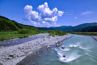 山形県庄内町 立谷沢川の写真・画像素材[2150198]