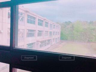 窓から見た景色の写真・画像素材[1625731]