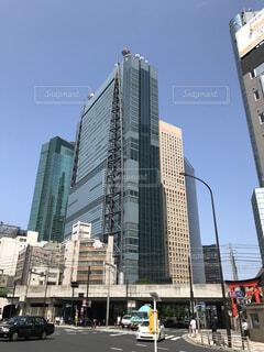 都市の高層ビルの写真・画像素材[1631895]
