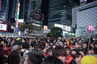渋谷のハロウィン、人混み。の写真・画像素材[1628200]