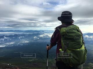 登山の写真・画像素材[1629915]