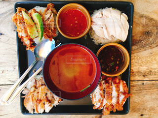 タイ料理カオマンガイの写真・画像素材[1631532]
