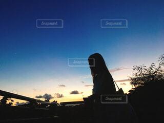 沖縄の夕日の写真・画像素材[1632635]