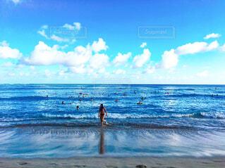 ハワイのビーチの写真・画像素材[1635562]