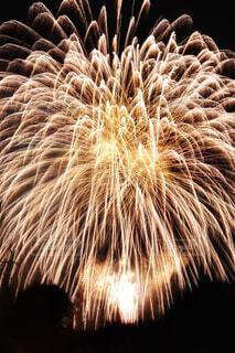 夜空の花火の写真・画像素材[1648868]