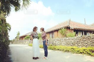 竹富島の集落の写真・画像素材[1648945]