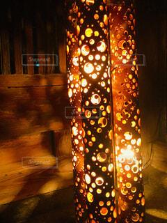 竹に照らされる世界の写真・画像素材[1629949]