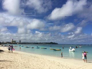 グアムのビーチの写真・画像素材[1635284]