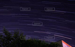 夜空と夜景の写真・画像素材[81199]