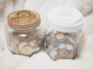 小銭貯金の写真・画像素材[1631519]