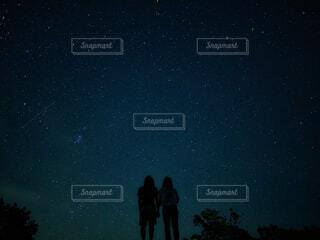 流れ星の写真・画像素材[3289131]