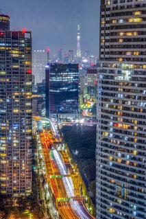 首都高×夜景×東京スカイツリーの写真・画像素材[1643715]