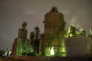 川崎工場夜景の写真・画像素材[2039292]