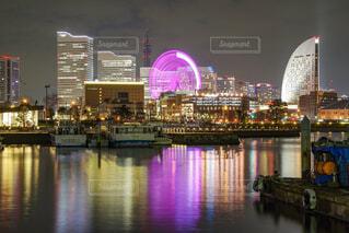 夜の横浜の写真・画像素材[2157704]