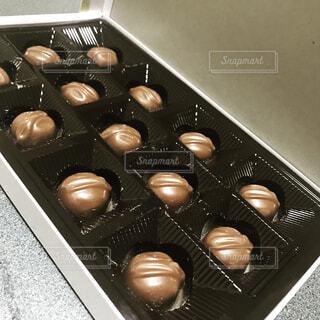マカダミアナッツチョコレートの写真・画像素材[1749577]