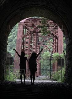 トンネルを抜けるとの写真・画像素材[1633941]
