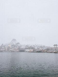 ディズニーシーの積雪の写真・画像素材[1664440]
