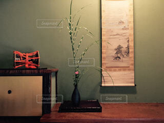 日本の床の間の写真・画像素材[1718588]