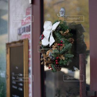 クリスマスリースの写真・画像素材[1648304]