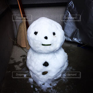 雪だるまの写真・画像素材[322256]