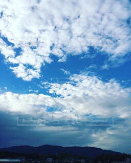 青空と雲の写真・画像素材[322347]