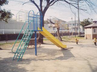 公園の遊び場の写真・画像素材[1866655]