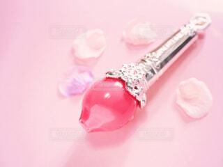 ピンクのグロスの写真・画像素材[2065309]