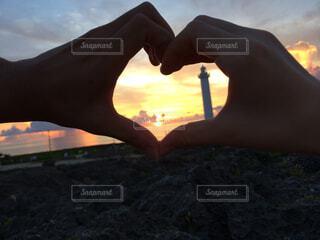 夕日の写真・画像素材[1636567]
