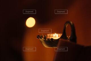 近くのガラス花瓶の写真・画像素材[1639163]