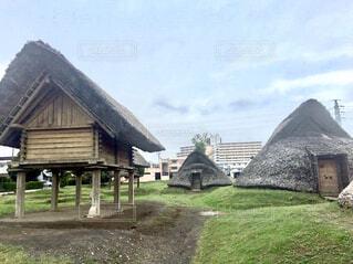登呂遺跡の写真・画像素材[1800178]