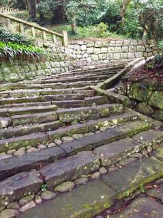 久能山東照宮へ続く階段の写真・画像素材[1800292]