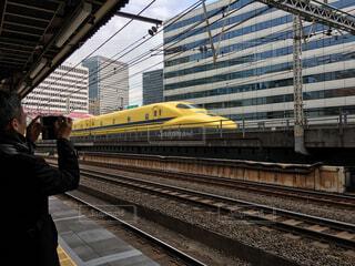 東京駅のドクターイエローの写真・画像素材[1638757]