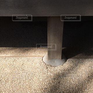 茶室の柱の写真・画像素材[1650018]