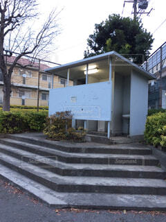 日本の公衆トイレの写真・画像素材[1663809]