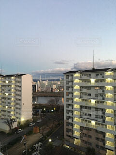 都市の高層ビルの写真・画像素材[1700139]
