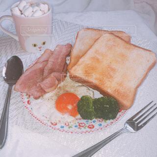 お家カフェ!理想の朝食♡の写真・画像素材[1641068]