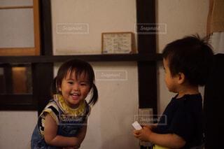 笑う子供の写真・画像素材[1643519]