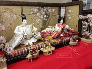 ひな祭りの雛人形の写真・画像素材[1643504]