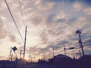 ドライブ中の景色の写真・画像素材[1662011]