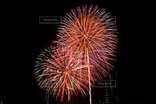 空に花火の写真・画像素材[1669640]