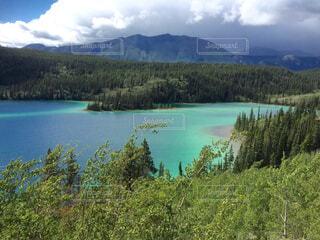 カナダ、エメラルド湖の写真・画像素材[1648487]