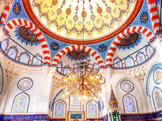 東京ジャーミィ(トルコ文化センター)モスク内部の写真・画像素材[1650449]