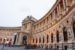 ウィーン、ホーフブルク宮殿前の写真・画像素材[1650454]