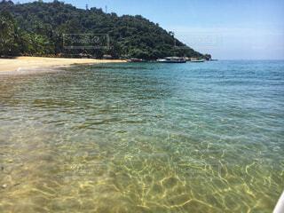 ベトナムの透き通った海の写真・画像素材[1651367]